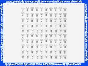 100 Luftschlüssel Entlüftungsschlüssel Metall mit Innenvierkant für Heizkörper zur Entlüftung