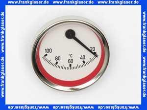 58071.05 Meibes Thermometer rot, exzentrischer Anschluß