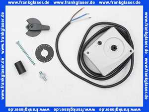 66341 Meibes Stellmotor 140s, 90G, 6 Nm, 230V, grau, 2 m Kabel
