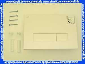 420710 Mepa Betätigungsplatte weiss