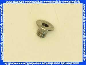 95.99194-0118 MHG MAN Senkschraube, M6x8, hitzebest. RE 1H, DIN 7991, 1.4841