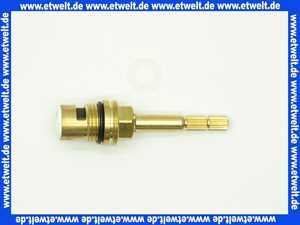 KCL9015LI Kera-Control Innenoberteil  1/2  90 Grad lange Spindel messing linksschließend Metzger