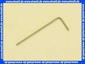 01461596 Neoperl Innensechskantschlüssel 6-Kantschlüssel 6-Kant Schlüssel für Innensechskant SW 1.5 mm