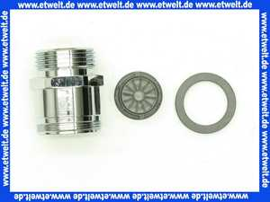 50050994 Neoperl Reduktion Messing verchromt AG M28X1 x AG 3/4