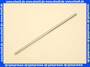 103 Nil Gampper Cu-Rohr, glatt, 300 mm lang, d: 10 mm x 300 mm, verchromt