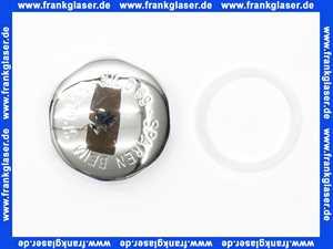 1222K NIL Kappe mit Kappendichtung Deckel für WC-Druckspüler D 69  3/4