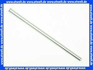 223 Nil Gampper Cu-Rohr d: 12 mm x 300 mm 1/2 Bördelrand - glatt, verchromt