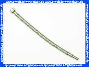 413 Nil Gampper Flexschlauch, Überwurfmutter 3/8  - Rohrstutzen d: 10 mm, 300 mm lang