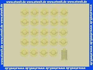 25 Heizölfilter Ölfilter mit Filz Filtervlies 75 µm Standardfilter Filter für Heizöl