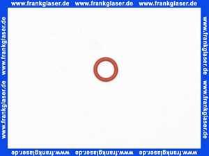 O-Ring Dichtung Dichtring 7,50x1,80 mm Silikon 60°Shore rot