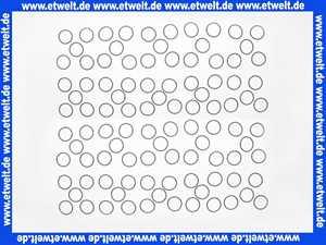 100 Stück Kautschuk O-Ring Dichtung 16 x 11 x 2,5mm