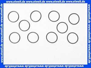 10 Stück Kautschuk O-Ring Dichtung 16 x 11 x 2,5mm