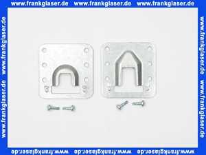 2142992 Oventrop Halterung 2 Befestigungen mit 4 Schrauben