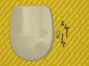 794980202 Pagette WC-Sitz V.I.P. mit Deckel und Steckbefestigung, weiss