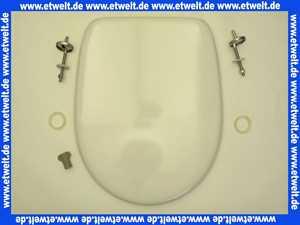 794981902 Pagette WC-Sitz VIP New weiss inkl. Scharnier und Puffern