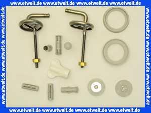 B47P999 Pressalit Universalscharnier B47 Edelstahl mit Kunststoffbuchsen