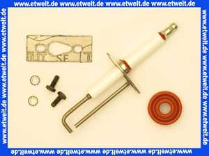 Remeha Zuend / Ionisation Elektrode inkl. Dichtung S54339