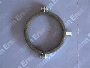 Rohrschelle 108-114 mit Gummieinlage und 8mm Gewindeanschluss