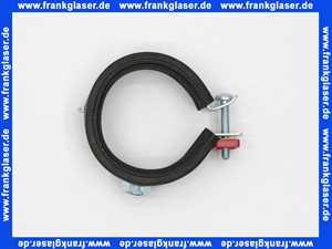 4851 Rohrschelle 48-51 mit Gummieinlage und 8mm Gewindeanschluss