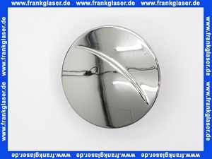 0256681 SANIT Abdeckplatte Deckel für Funktionseinheit 821/90 TA, chrom