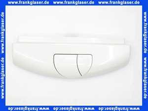 02A00010601 Sanit Verona Duo Abdeckung Deckel zu Spülkasten für zwei Mengen Spülung