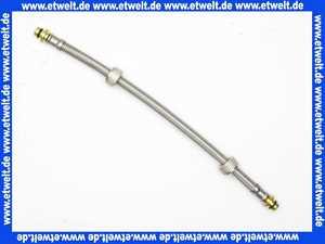 0329400 SANIT Flexibler Anschlussschlauch mit Überwurfmuttern G 3/8