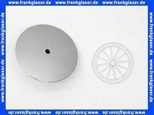 0410581 SANIT Abdeckplatte Deckel chrom für Funktionseinheit 823/90 FW und 823/90 FS