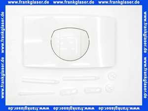 16021010000 Sanit Drueckerplatte mit Rundausloeseknopf