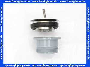 3090700 SANIT Ablaufventil G 2 x 80 x 42 für Edelstahl-Standrohr 2