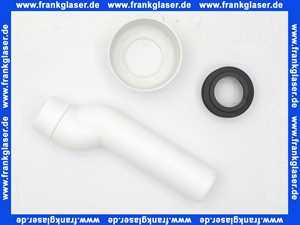 5899601 SANIT Anschluss-Set etagiert für UP-Spül kästen mit Stand-WC, d: 45 x 210 mm