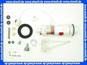 93606810000 SANIT Druck-Druck Garnitur 945-18/38 D mit Deckelbefestigung für aufgesetzte porz. Spülkästen, chrom