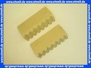 K0900101 SBS Schamottsteine zu H 30 Satz mit 2 Stück