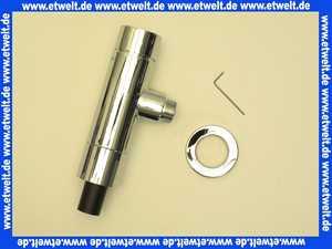 022490699 Schell WC-Druckspüler 3/4 Zoll verchromt mit Spartaste