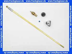 0028100000001 Schlösser Oberteil Spindel 600 mm mit Kronen-Griff 15 mm Gewinde-Durchm.