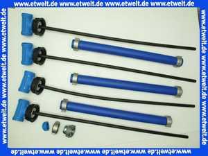 Schütz Set 4x Befüllleitung Niv-O-Quick für BTH 2500 Ersatz für NIV-O-MATIC 4005916