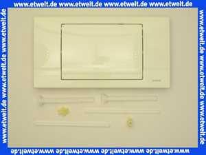 229013 Schwab komplette Betätigungsplatte  RIVA weiß,  Start-Stopp, f.UP182