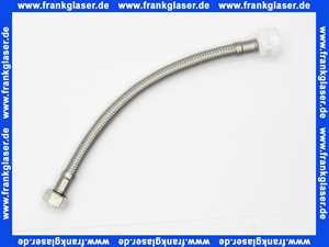 363810 Schwab Anschlussschlauch 245 mm für Spülkasten 187.1200, KS-Nippel weiss