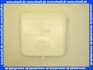 604682 Schwab AP- Spülkasten AP 120 weiß mit Start Stopp Spülung 6 - 9 Liter