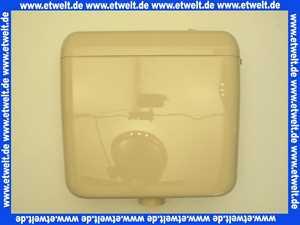 605831 Schwab Aufputz Spülkasten AP 120 bahamabeige mit Start Stopp Spülung 6 - 9 Liter