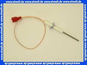 7100238 Sieger Ionisationselektrode Überwachungselektrode mit Kabel und Stecker