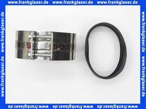 Gussrohrverbinder Abwasser Gussrohr CV-Verbindung Verbinder DN 125