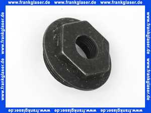 Radiator-Anschlussstopfen 11/2 x 1/2 links Gewinde Messing