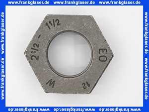 Reduzierstück 241 2 1/2 Zoll AG X 1 1/2 Zoll IG, schwarz