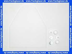 Schallschutz Set Standard für Wand WC und Bidet 4mm mit Montagezubehör