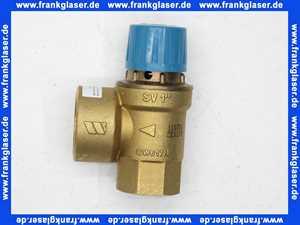 Membran-Sicherheitsventil Anschluß Eintritt 1 Zoll Austritt 1 1/4 Zoll 10,0 bar
