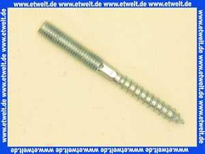 Stockschraube M 8 x 50 Stahl verzinkt