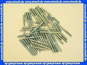 50 Stockschrauben M 8 x 50 Stahl verzinkt