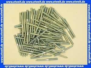 100 Stockschrauben M 8 x 60 Stahl verzinkt