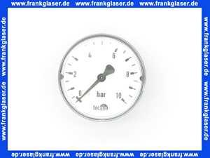 001108000 SYR Sasserath Manometer 174 0-10 bar für alle Druckminderer