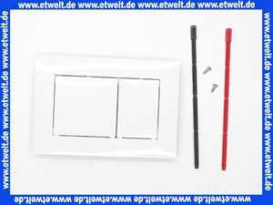 9240400 TECE now WC-Betätigungsplatte weiß